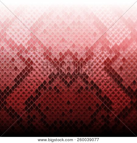 Snake Skin Gradientl Animal Pink Seamless Border