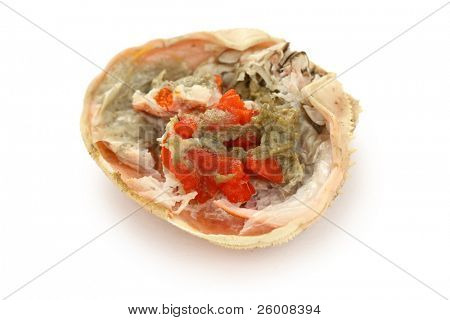 female snow crab ovary , japanese food