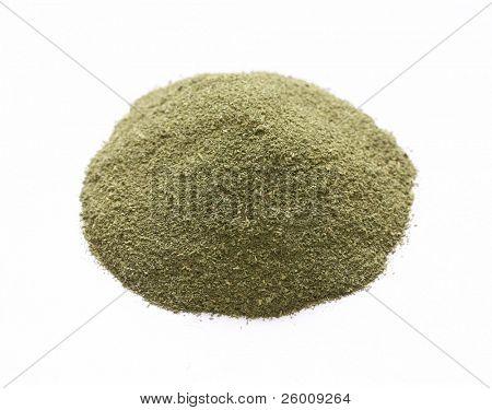 kasuri methi powder , kasoori methi powder , indian spice poster