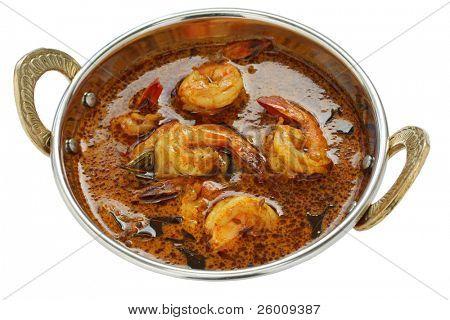 креветки карри, Индийская еда