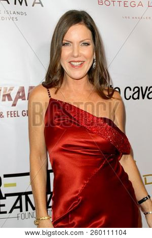 Kira Reed Lorsch arrives at the 9th Annual Face Forward Gala at the Beverly Wilshire Hotel in Beverly Hills, CA on Sept. 22, 2018.