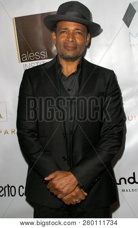 Mario Van Peebles arrives at the 9th Annual Face Forward Gala at the Beverly Wilshire Hotel in Beverly Hills, CA on Sept. 22, 2018.