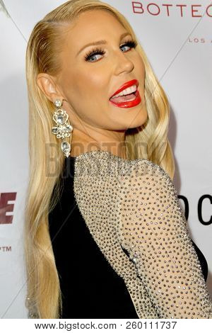 Gretchen Rossi arrives at the 9th Annual Face Forward Gala at the Beverly Wilshire Hotel in Beverly Hills, CA on Sept. 22, 2018.