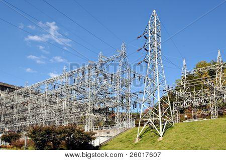 A major power grid.