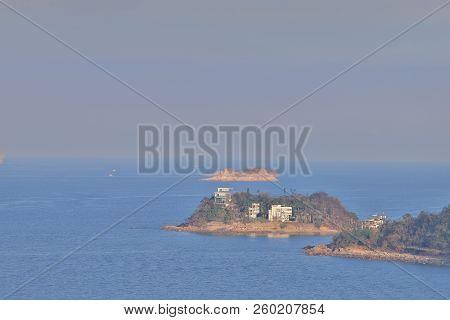 A Coast In Ngam Tau Sha Sai Kung In Hk