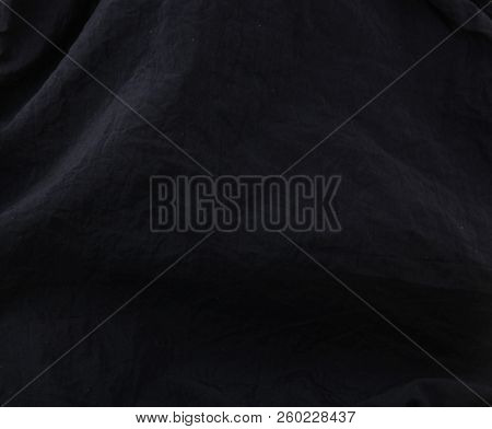 Black Fabric Texture Background Color Image Stock Photos