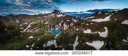 Lake Como - Poughkeepsie Pass, San Juan Mountains Off Engineer Pass, Colorado, Usa