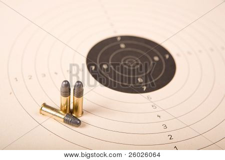 Target and bullets