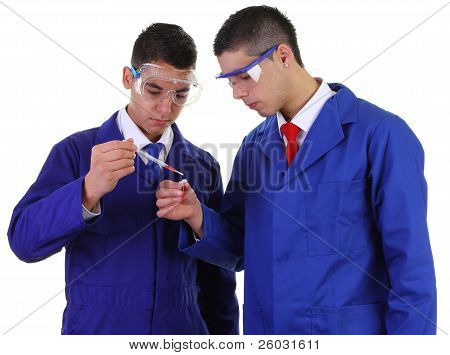 Two Scientists