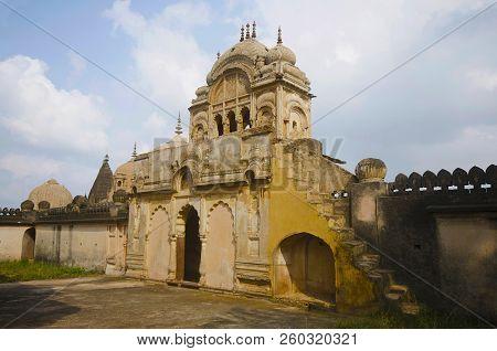 Entrance Gate Of A Chhatri Of Maharaja Parikshat. Datia. Madhya Pradesh. India