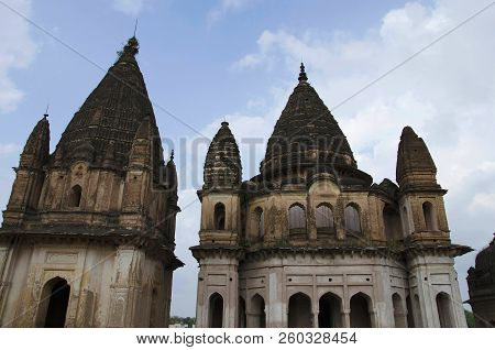 Chatri Of Maharaja Shubhakaran. Datia. Madhya Pradesh India