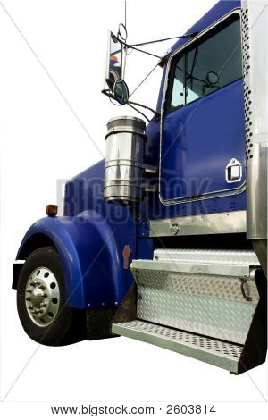 Blue Truck Cab