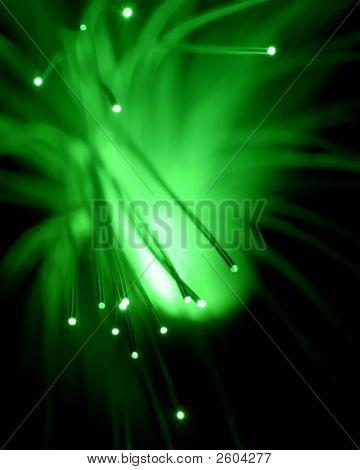 Fiber Optic Concept Or Background