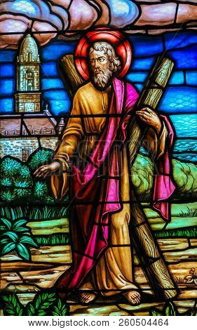 Saint Andrew - Stained Glass