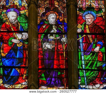 Saints Peter, James And Paul - Stained Glass
