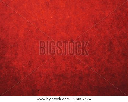 red grunge layer