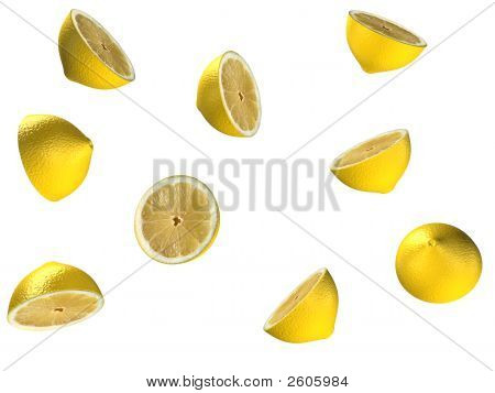 Falling Lemons