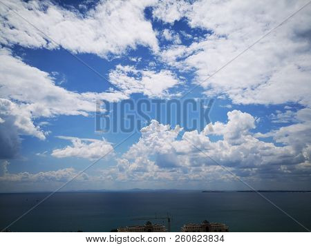 Beach Beauty In Nature Blue Cloud - Sky Day Horizon Over Water Idyllic No People Non-urban Scene Out