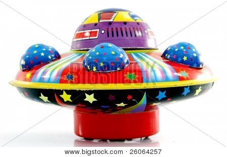 old toy ufo