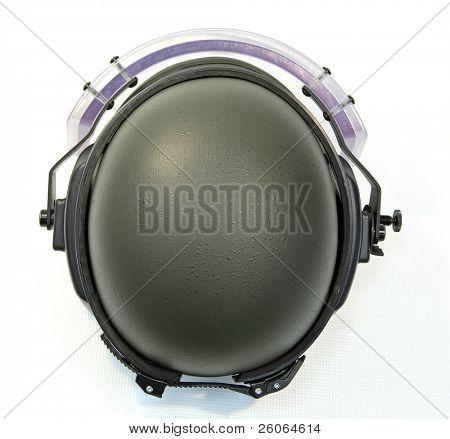 bullet-proof helmet