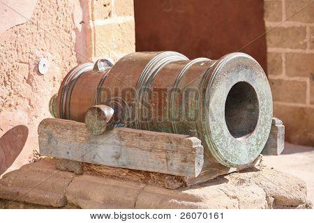 poster of Old mortar gun