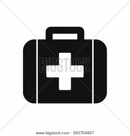 Medical Kit Icon Isolated On White Background. Medical Kit Icon In Trendy Design Style. Medical Kit