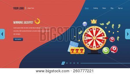 Winning Jackpot. Casino Jackpot Winner. Big Win Jackpot. Lucky, Success.