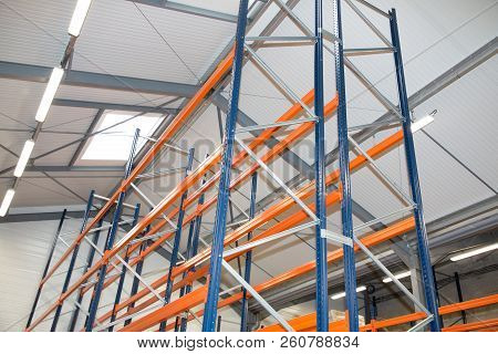 Warehouse Optimisation Shelving Storage, Metal, Pallet Racking System