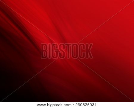 Abstract Rendered Red Illustration Background For Design