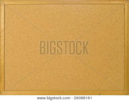 Cork posting board blank