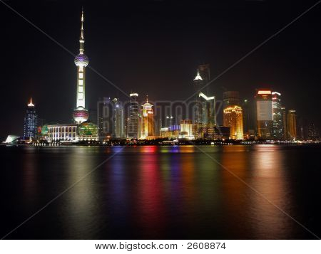 China shanghai pearl Tower View 2