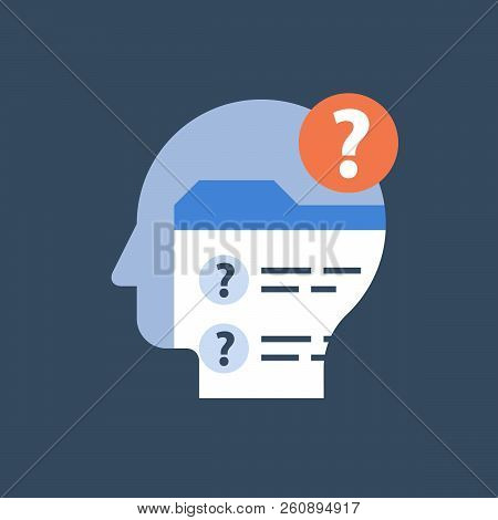 Online Exam Form, Check Up Knowledge, Complete Check List, Examination Questionnaire, Assignment Con