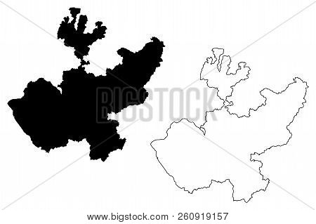 Jalisco (united Mexican States, Mexico, Federal Republic) Map Vector Illustration, Scribble Sketch F