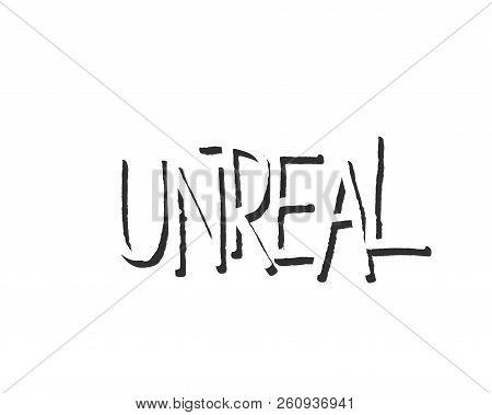 Popular English Language Slang Words Doodle Lettering Set Kudos Sfs Blimey Unreal Gobmasked Pieced G