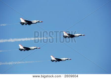 Four Thunderbirds