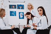 Oncology and Therapy Profession for Student. Nurse Speak with Student. Servise for Patient. Pediatrician and Medicine. Profession for Student. Sign for Student. Nurse Support Young Profession Pharmacy poster