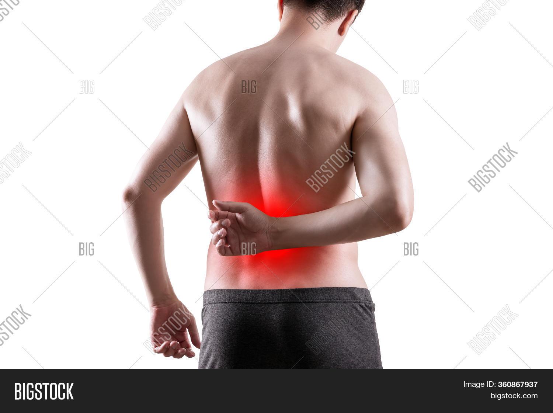 Kidney Stones Pain Image Photo Free Trial Bigstock