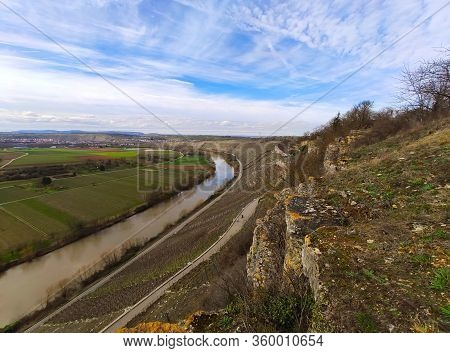 Sight In Swabia - Hessigheimer Felsengaerten Near Town Of Hessigheim