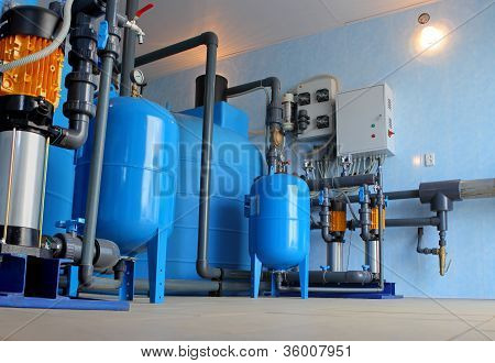 Home water filtration and ionizer system