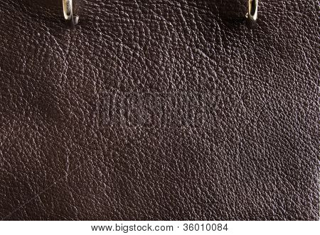 Mocha Leather Texture Detail