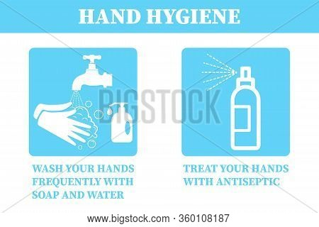 Hand Hygiene .coronavirus Covid-19 Is A Preventive Hand Sanitizer To Protect Your Hands From Viruses