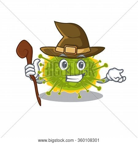 Insthoviricetes Sneaky And Tricky Witch Cartoon Character
