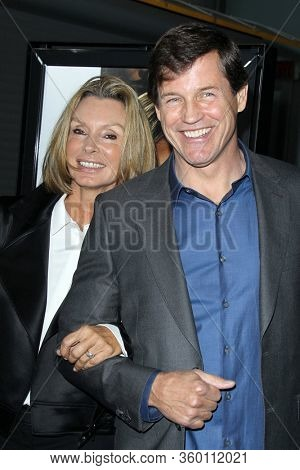 LOS ANGELES - MAY 12:  Marjolein Pare, Michael Pare at the