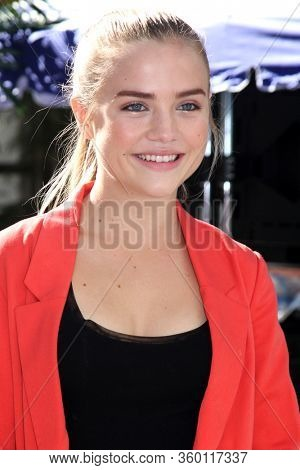 LOS ANGELES - JAN 9:  Maddie Hasson at the