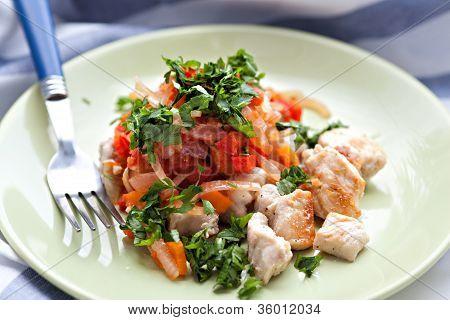 Roast Chiken Meat