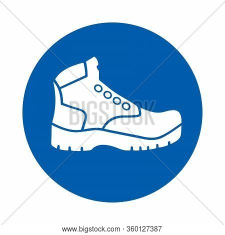 Safety Shoes Must Be Worn. M008.  Standard Iso 7010