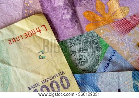 Indonesian Paper Currency Notes