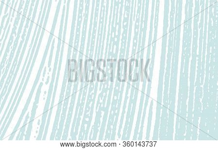Grunge Texture. Distress Blue Rough Trace. Dazzling Background. Noise Dirty Grunge Texture. Energeti