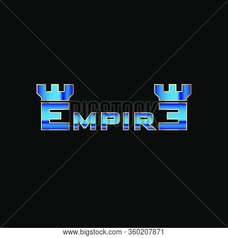 Elegant And Modern Empire Wordmark Logo Concept