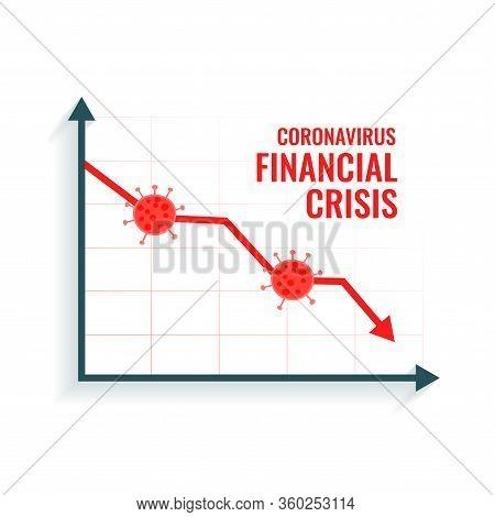 Coronavirus Scare Global Market Downfall Crisis Background